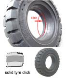 Gabelstapler Tire Click Solid Tyre (18X7-8) Pneumatic Solid Tire, Forklift Tire
