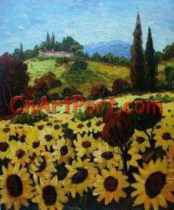 De Schilderijen van het Landschap van het impressionisme (LANI0438)