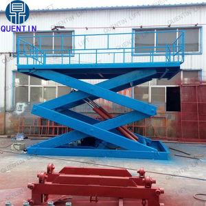 Carro de tesoura hidráulica da plataforma elevatória para Reparação Automóvel