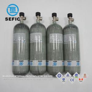 最上質カーボンファイバーの合成物シリンダー