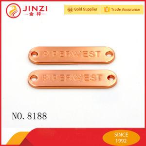 Kundenspezifisches Farben-Metallfirmenzeichen-Namensschild