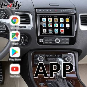 Casella di percorso di GPS del Android 6.0 per Volkswagen schermo di Touareg RCD550 6.5 ' con Mirrorlink, WiFi, programma di Google, Carplay facoltativo