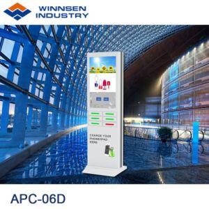速い料金のアンドロイド43インチ表示キオスクを広告する大きい広告スクリーンの携帯電話充満端末