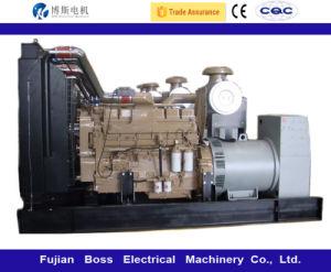 Cummins Engine 디젤 엔진 발전기 세트 디젤 Genset에 의해 강화되는 60Hz 100kw 125kVA Water-Cooling 침묵하는 방음