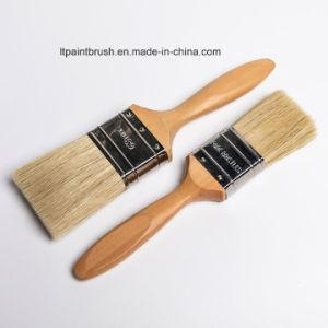 フランスのPlatanusの木のハンドルが付いている100%の純粋な剛毛
