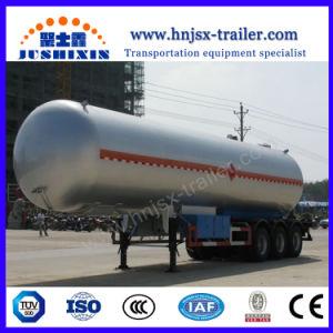 반 50000liters 액체 프로판 LPG 수송 탱크 트레일러
