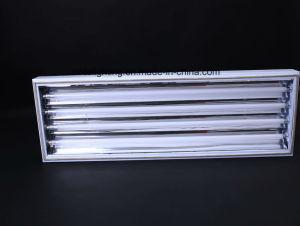 Grelha de estilo de suspensão de alumínio com lâmpada tubo LED Xtyg-4*36W-S