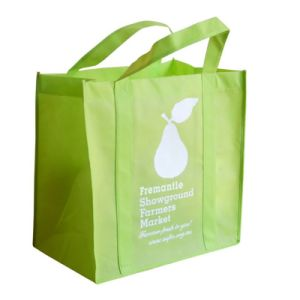 Logotipo personalizado Non-Woven Bolsa Tote Bag (YH-NWB005)