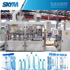 自動飲むミネラルペットガラスビンびん詰めにされた水満ちるびん詰めにする機械