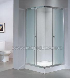 명확한 샤워 Tempered 문 유리