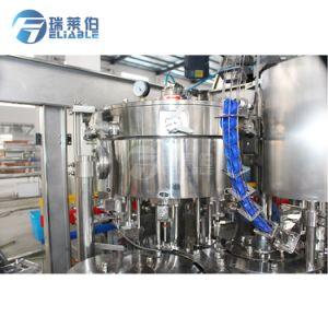 Frasco Pet pequena automática de bebidas carbonatadas suave líquido máquina de enchimento de tomada de engarrafamento de bebidas