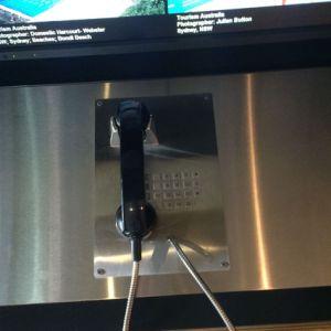 Водонепроницаемая IP55 чрезвычайной телефон VoIP Sos безопасности морской быстрого набора телефона номер телефона на кабине