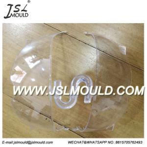 De Plastic Tik van de douane op de Vorm van de Lens van het Schild van het Vizier van de Helm