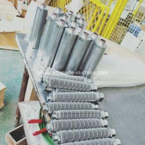 De hoge Filter van de Kaars van de Filtratie Nauwkeurigheid Gesinterde voor het Chemische Spinnen Filber