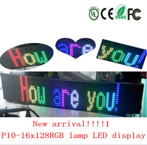 Contrassegno del tabellone per le affissioni della visualizzazione di LED LED per la stanza frontale di negozio dell'hotel del negozio
