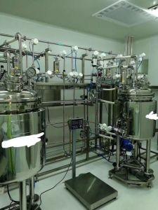 Tanque de fracionamento de líquidos para o sistema de líquidos de administração oral