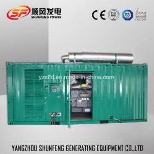 600KW de puissance électrique Perkins silencieux Groupe électrogène Diesel