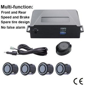 Добавление беспроводной переднего и заднего бампера автомобиля датчиков парковки