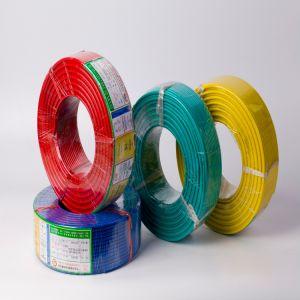 Bt 450/750V com isolamento de PVC Fios eléctricos de cobre do fio de construção