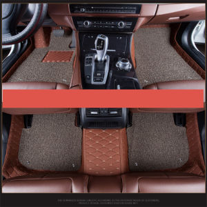 Aluguer de carro de acessórios tapete tapetes/carro Almofada Antiderrapagem EVA/PVC/borracha ou plástico/Latex/couro/XPE/EPT 3D/5D Tapete do carro para acessório automático