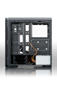 Heißer Verkaufs-Computer PC Kasten mit vollem Glasfenster und RGB-Streifen
