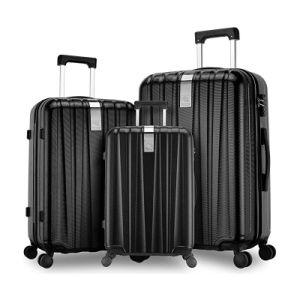 Ligero de equipaje de mano Trolley ABS+PC Hardshell Case maleta de equipaje de viaje
