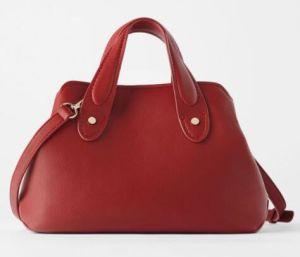 Европейским дизайнером моды леди натуральная кожа наппа другого сумку с ручкой