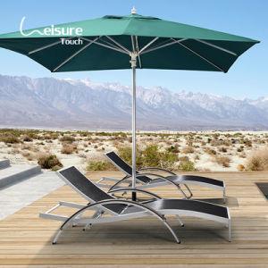 Hôtel de haute qualité de mobilier de jardin piscine côté châssis en aluminium Chaise chaise Longue - Rex