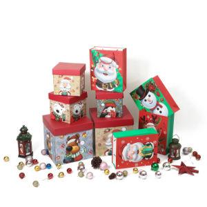 China Wholesale Caja de regalo de Navidad de impresión personalizadas de mano de lujo Compras bolsas de papel de embalaje