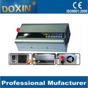 O pico de 1200 watts para DC AC carro Inversor de energia com USB 12V 220V