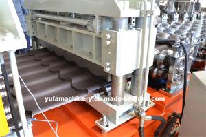 Lo scarificatore 1100 dell'acqua delle mattonelle di C ha lustrato il rullo di fabbricazione dell'acciaio delle mattonelle di punto che forma la macchina