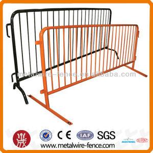 El tráfico de acero galvanizado portátil el control de multitudes de barrera para la Seguridad Vial