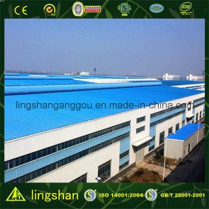 Дешевый пакгауз стальной рамки Q345 для сбывания (LS-SS-210)