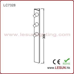 자전 3W LED 보석 내각 빛 LC7328