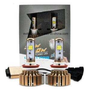 sistema para 3000lm auto todo del faro del coche LED del kit G3 H11 de la linterna de 30W LED en un 6000k que conduce bulbos de la niebla LED