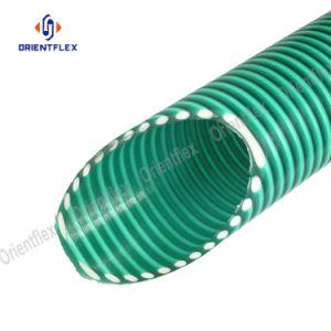 Tubo flessibile del PVC di scarico di aspirazione dell'acqua dell'elica ondulato spirale di plastica flessibile trasparente