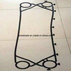 Type de plaque de fournisseur de la Chine garnitures en caoutchouc de flux de garniture de pièces de rechange d'échangeur de chaleur