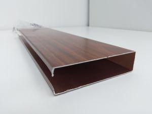 La Chine Fabricant 2019 nouveau matériau de construction de revêtement en bois de style plafond en aluminium