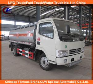 Camion di trasporto dell'olio dei camion 5000L del serbatoio di combustibile delle rotelle di Dongfeng 6