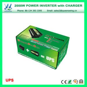 Micro-UPS 2000W Carro Inversor de Energia com mostrador digital (QW-M2000UPS)