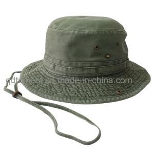Margem Bruta lavados de moagem Bill Balde de pesca Hat (TMBH9460)