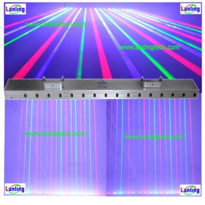 Жир лазерного луча света RGB DJ систем освещения (LN590)