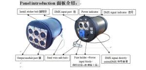 6CH DMX Divisor para luz de estágio