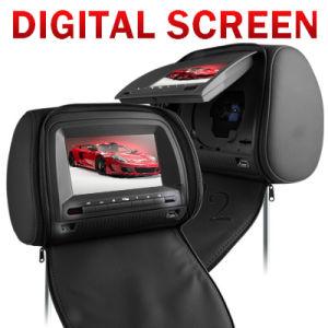 Vh73: 2x7  디지털 방식으로 스크린 머리 받침 DVD 플레이어와 가진 머리 받침 감시자 DVD 플레이어