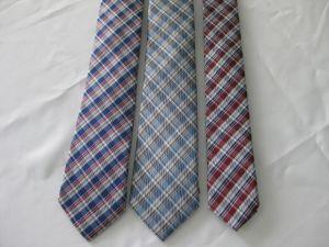 Los hombres de banda amplio tejido de seda corbatas