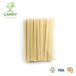 China 7 polegada de café de madeira descartáveis mexa emperra /Bambu Agitadores Stir /Mini Skater com agitação