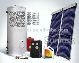 Solar Keymark (SFCY-200-24)の分割されたPressurized Solar Hot Water Heater