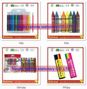 Papelaria escolar para o conjunto de pintura de cor