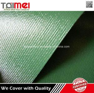 Garantia de qualidade à prova de fogo lona de PVC