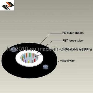 Cable de fibra óptica o cable de fibra óptica (GYXTY(S)
